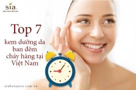 Top 7 loại kem dưỡng da ban đêm tốt nhất hiện nay được nhiều người tin dùng