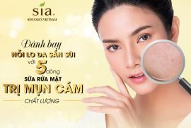 Đánh bay nỗi lo da sần sùi với 5 dòng sữa rửa mặt trị mụn cám chất lượng